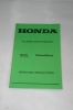 Honda Cylinder Motor Mower HC24 Operating Instructions (1984)