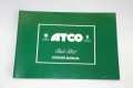 ATCO Club B17 Owners Manual