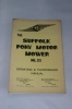Suffolk Pony Motor Mower User Manual