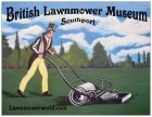 Britsh Lawnmower Museum Fridge Magnet large 10.5cm x 14cm