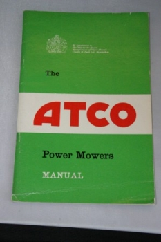 The Atco Power Mowers Manual
