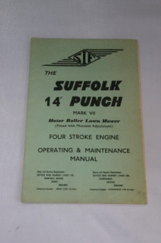 "The Suffolk 14"" Punch (Mark VII). 4-Stroke Engine Manual"