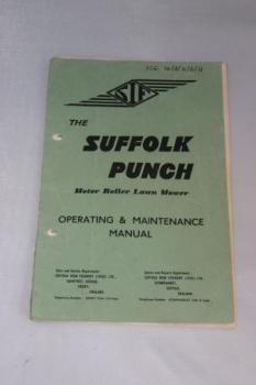 The Suffolk Punch Operating & Maintenance Manual