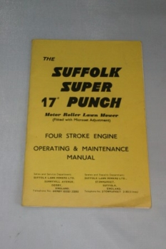 "The Suffolk Super 17"" Punch 4-Stroke Engine Manual"
