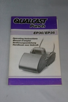 "12 & 14"" Qualcast Punch EP30/EP35 Operating Instructions (1984)"