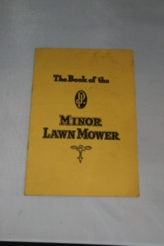 The Book of the J. P. Minor Lawnmower
