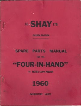 Parts List for Shay Four-In-Hand