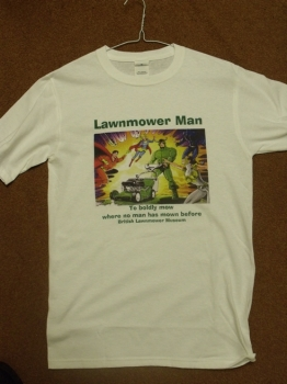 Lawnmowerman T-Shirt <b>(Medium)</b>